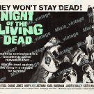 Night Of The Living Dead 1968 Vintage Movie Poster Reprint 19