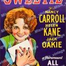 Sweetie 1929 Vintage Movie Poster Reprint