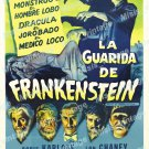 House Of Frankenstein 1944 Vintage Movie Poster Reprint 22