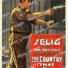 The Country That God Forgot 1916 Vintage Movie Poster Reprint