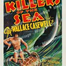Killers Of The Sea 1937 Vintage Movie Poster Reprint 3