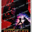 Revenge Of The Jedi 1982 Vintage Movie Poster Reprint 20