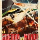 The War Of The Worlds 1960 Vintage Movie Poster Reprint 44