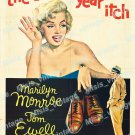 The Seven Year Itch 1955 Vintage Movie Poster Reprint 21