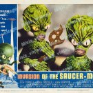 Invasion Of The Saucer Men 1957 Vintage Movie Poster Reprint 21