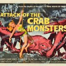 Attack Of The Crab Monsters 1957 Vintage Movie Poster Reprint 17