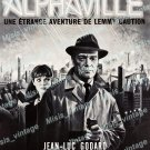 Alphaville 1965 Vintage Movie Poster Reprint 3