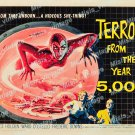 Terror From The Year 5000 1958 Vintage Movie Poster Reprint 3