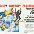 On Her Majesty S Secret Service 1970 Vintage Movie Poster Reprint 5