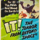 It The Terror From Beyond Space 1958 Vintage Movie Poster Reprint 3