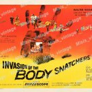 Invasion Of The Body Snatchers 1956 Vintage Movie Poster Reprint 49