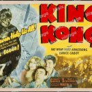 King Kong 1942 Vintage Movie Poster Reprint 78