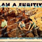 I Am A Fugitive From A Chain Gang 1932 Vintage Movie Poster Reprint 9