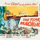 The Time Machine 1960 Vintage Movie Poster Reprint 5