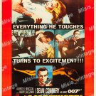 Goldfinger 1964 Vintage Movie Poster Reprint 50