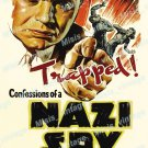 Confessions Of A Nazi Spy 1939 Vintage Movie Poster Reprint