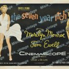 The Seven Year Itch 1955 Vintage Movie Poster Reprint 19