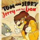 Jerry And The Lion 1950 Vintage Movie Poster Reprint 2