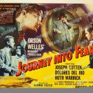 Journey Into Fear 1942 Vintage Movie Poster Reprint 6