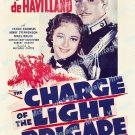 The Charge Of The Light Brigade 1936 Vintage Movie Poster Reprint 3