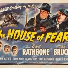 The House Of Fear 1945 Vintage Movie Poster Reprint 3