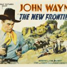 The New Frontier 1935 Vintage Movie Poster Reprint 2