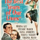 The Best Years Of Our Lives 1946 Vintage Movie Poster Reprint