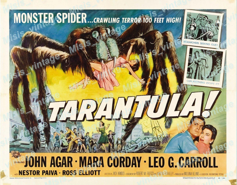 Tarantula 1955 Vintage Movie Poster Reprint 23