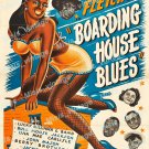 Boarding House Blues 1948 Vintage Movie Poster Reprint