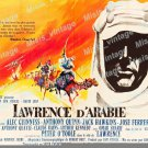 Lawrence Of Arabia 1962 Vintage Movie Poster Reprint 27