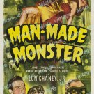 Man Made Monster 1941 Vintage Movie Poster Reprint 7