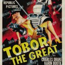 Tobor The Great 1954 Vintage Movie Poster Reprint 15