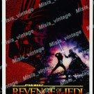 Revenge Of The Jedi 1982 Vintage Movie Poster Reprint 19
