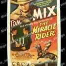 The Miracle Rider 1935 Vintage Movie Poster Reprint