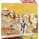 North By Northwest 1966 Vintage Movie Poster Reprint 30