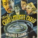 Charlie Chan At Monte Carlo 1937 Vintage Movie Poster Reprint 5