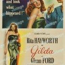 Gilda 1946 Vintage Movie Poster Reprint 26