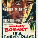 In A Lonely Place 1950 Vintage Movie Poster Reprint 9