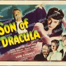 Son Of Dracula 1943 Vintage Movie Poster Reprint 13