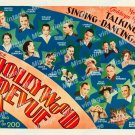 Hollywood Revue Of 1929 1929 Vintage Movie Poster Reprint