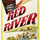 Red River 1948 Vintage Movie Poster Reprint 5