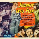 Journey Into Fear 1942 Vintage Movie Poster Reprint 4