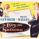 The Lady From Shanghai 1947 Vintage Movie Poster Reprint 24