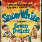 Snow White And The Seven Dwarfs 1937 Vintage Movie Poster Reprint 51