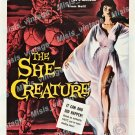 The She Creature 1956 Vintage Movie Poster Reprint 7