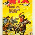 The Son Of The Golden West 1928 Vintage Movie Poster Reprint