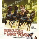 Hercules In New York 1970 Vintage Movie Poster Reprint
