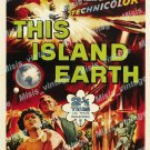This Island Earth 1955 Vintage Movie Poster Reprint 36