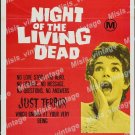 Night Of The Living Dead 1970 Vintage Movie Poster Reprint 18