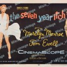 The Seven Year Itch 1955 Vintage Movie Poster Reprint 18